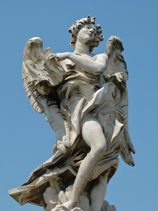 Angel with the Superscription (copy by Giulio Cartari) 5