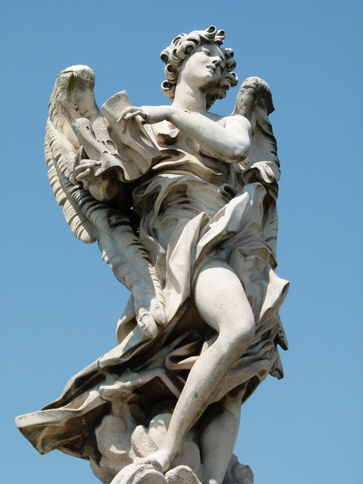 Angel with the Superscription (copy by Giulio Cartari) 6