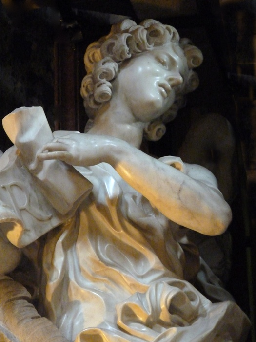 Angel with the Superscription Bernini 01