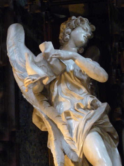 Angel with the Superscription Bernini 02