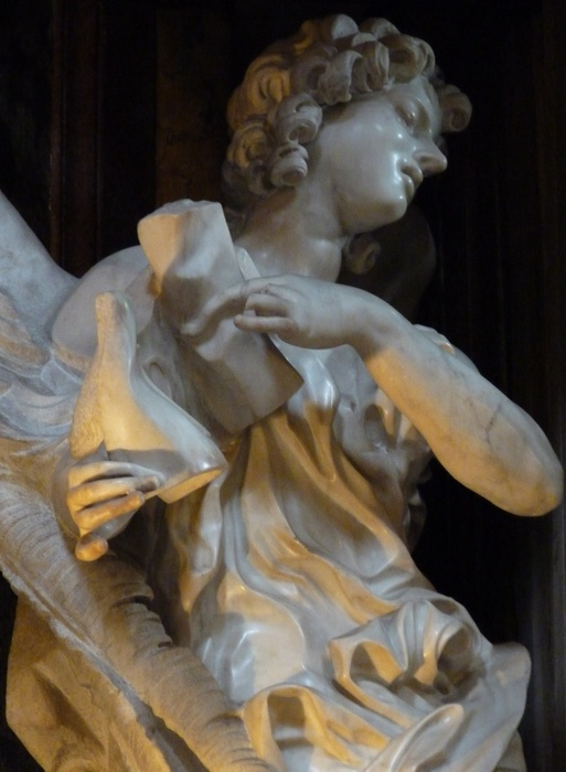 Angel with the Superscription Bernini 03
