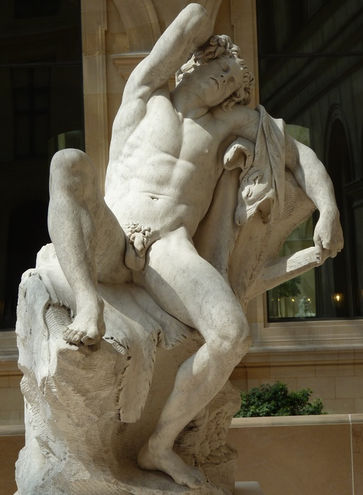 Barberini Faun by Edmé Bouchardon 1726