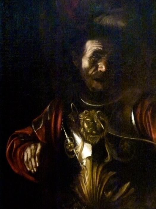 Caravaggio Marytrdom of st Ursula 2