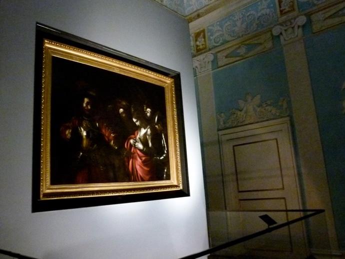 Caravaggio Marytrdom of st Ursula 3