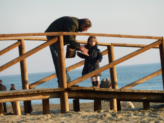 Father & Daughter Sperlonga