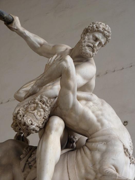 Giambologna\\\'s Hercules & the Centaur Nessus (1599) 3