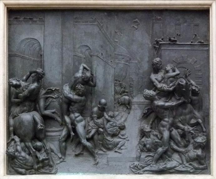 Giambologna\\\'s Rape of the Sabine Women 13