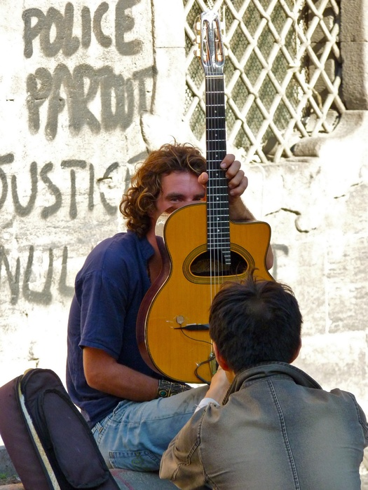 Guitarist San Domenico Maggiore 3