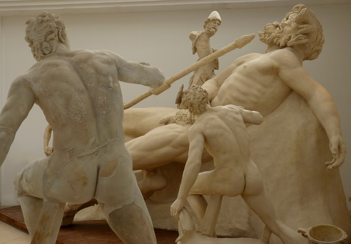 The Blinding of Polyphemus (reconstruction) 2