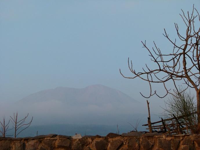 Vesuvius View from Palazzo Rosenthal 5
