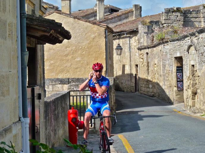 Aussie Biker st Emilion 2