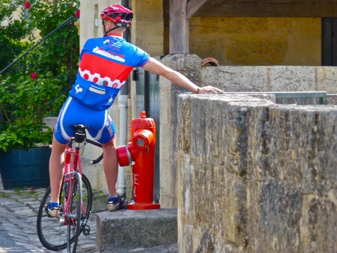 Aussie Biker st Emilion