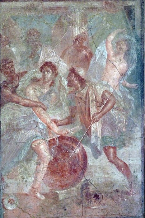 Casa Dei Dioscursi Achilles at Skyros