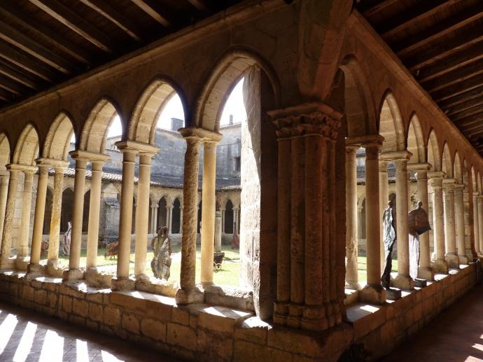 Cloister Monolithic Church st Emilion