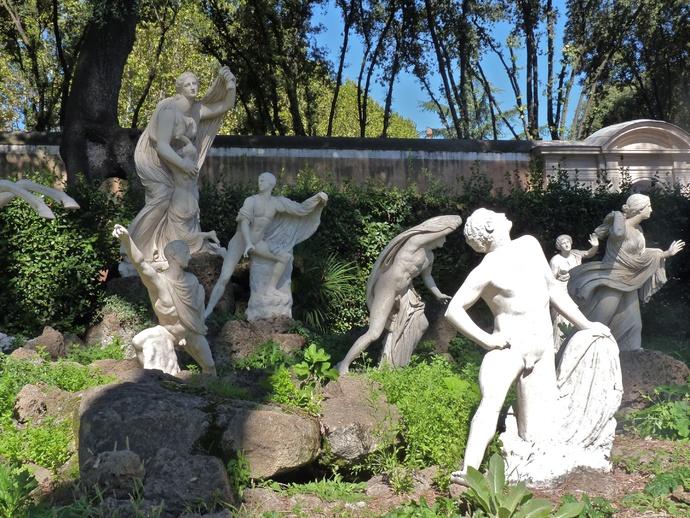 Dying Niobids Villa Medici 11