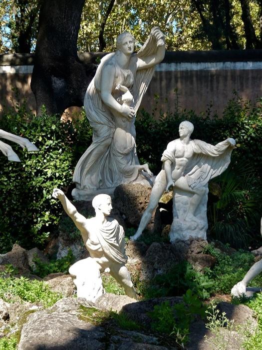 Dying Niobids Villa Medici 48
