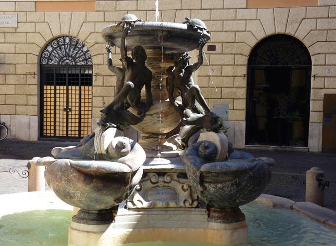 Fontana Delle Tatarughe 3