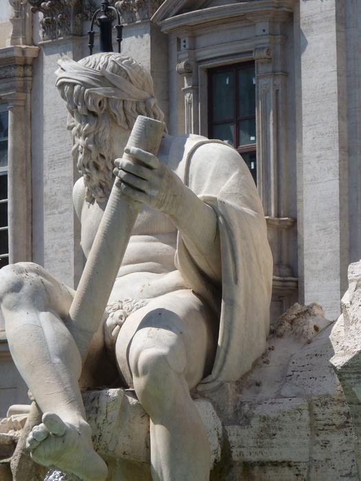 Fountain of the Four Rivers Bernini 10