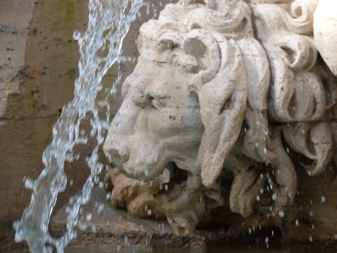 Fountain of the Four Rivers Bernini 6
