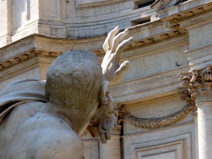 Fountain of the Four Rivers Bernini 9