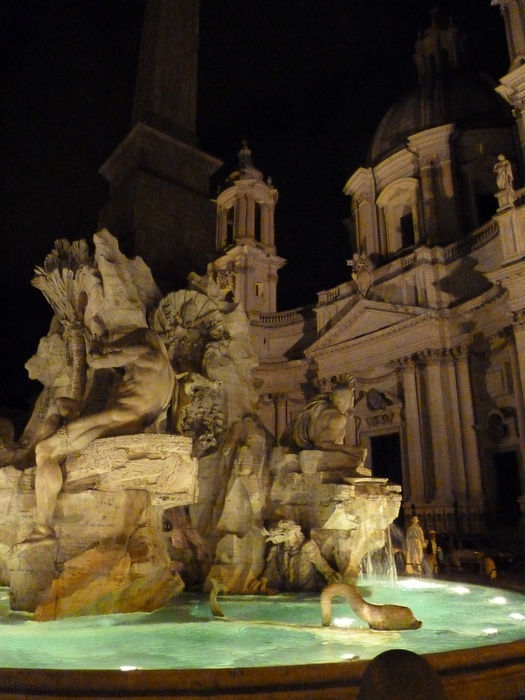 Fountain of the Four Rivers Piazza Navona 2