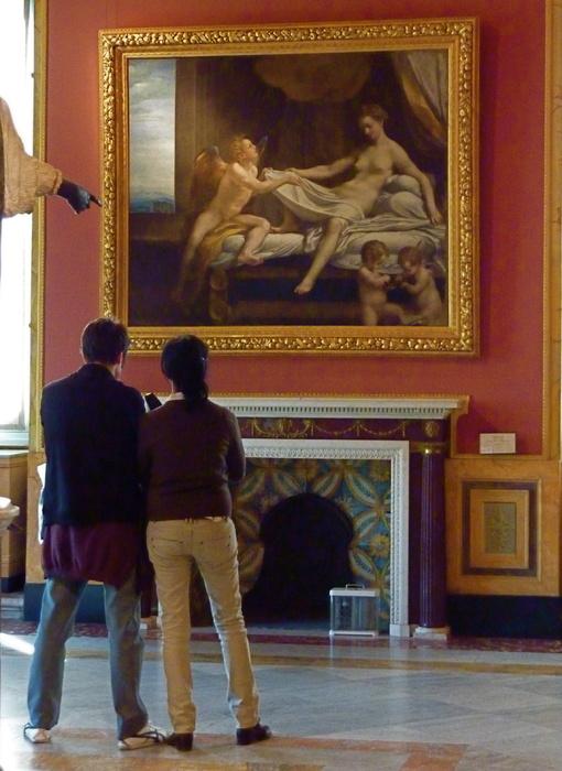Galleria Borghese la Danae di Correggio
