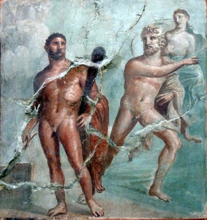 Herakles, Acheloos & Deianeira