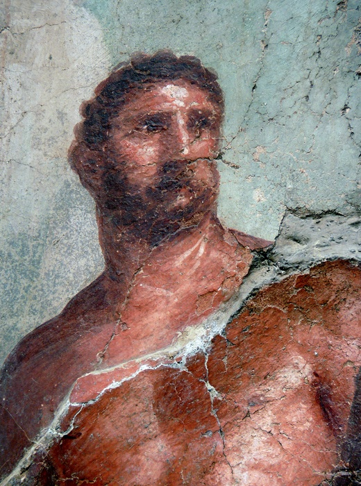 Herakles (detail)