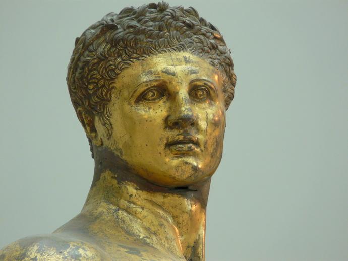 Hercules Gilded Bronze 2