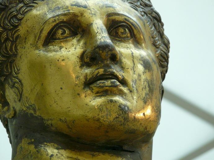Hercules Gilded Bronze 3