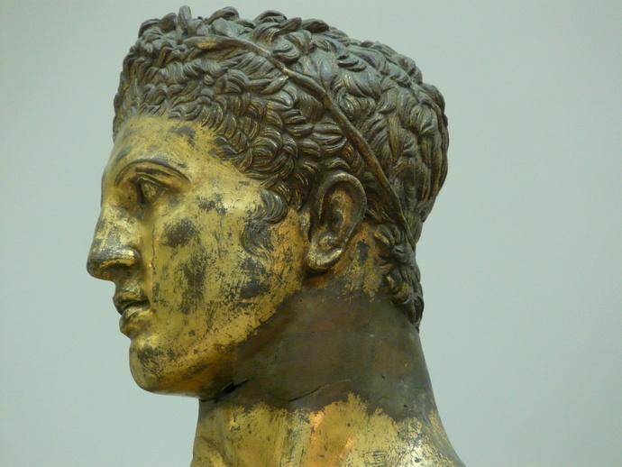 Hercules Gilded Bronze