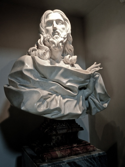 Il Salvator Mundi Bernini 2