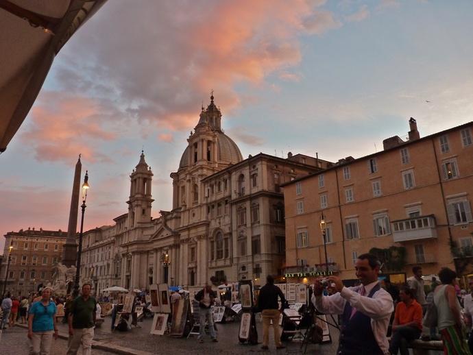 Il Crepuscolo Piazza Navona
