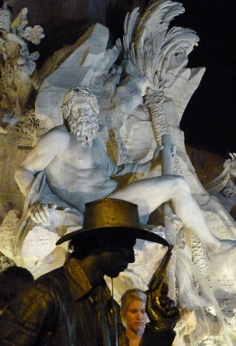 Midnight Cowboy Piazza Navona