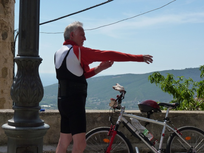 Octogenarian Biker Castellabate