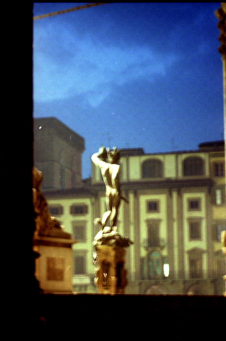 Perseus Loggia Lanzzi, Florence