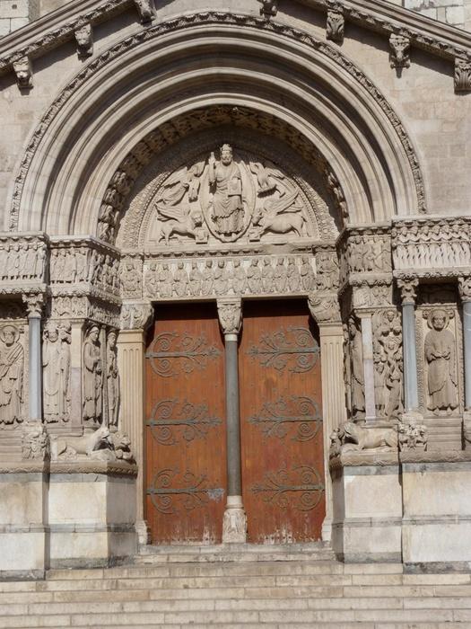 Saint Trophime West Portal 3