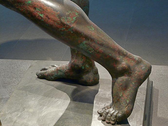 Seleucid Prince (feet)