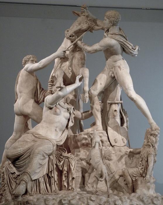 The Farnese Bull 8