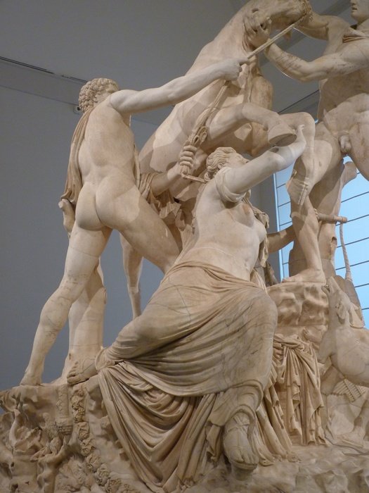 The Farnese Bull Dirce 4