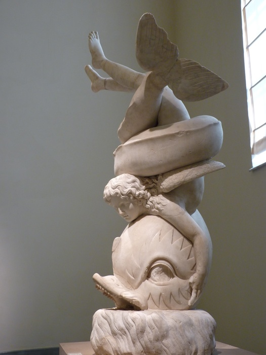 The Farnese Eros on a Dolphin 8