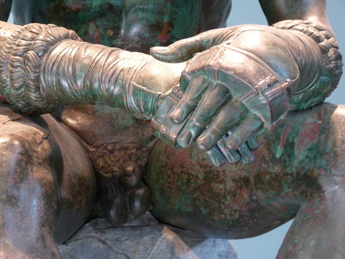 The Bronze Boxer of Quirinal 10