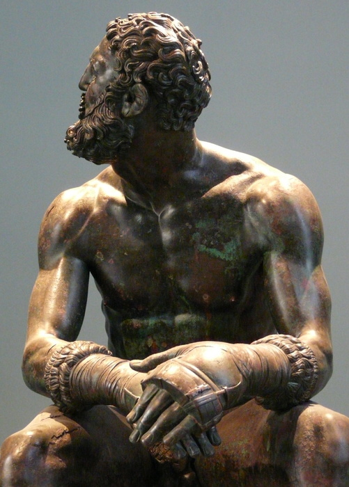 The Bronze Boxer of Quirinal 4