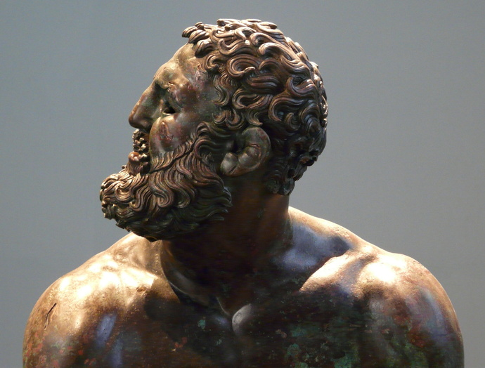 The Bronze Boxer of Quirinal 5