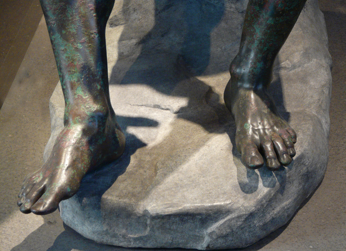 The Bronze Boxer of Quirinal 6