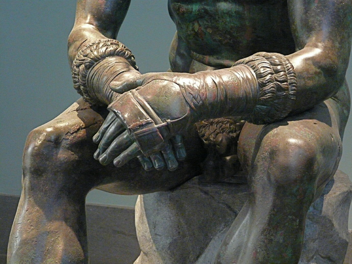 The Bronze Boxer of Quirinal 7
