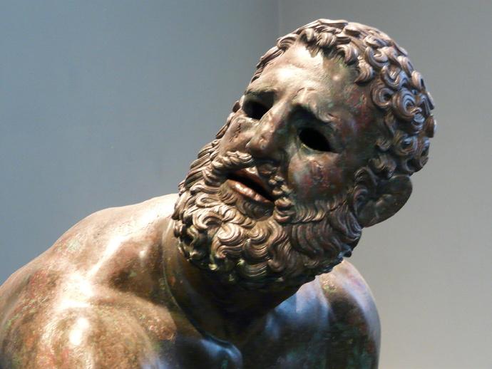 The Bronze Boxer of Quirinal 8