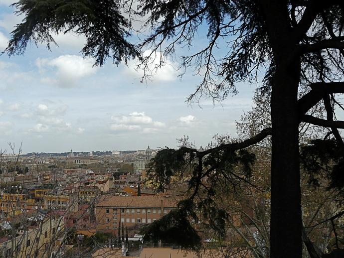 View s Pietro in Montorio