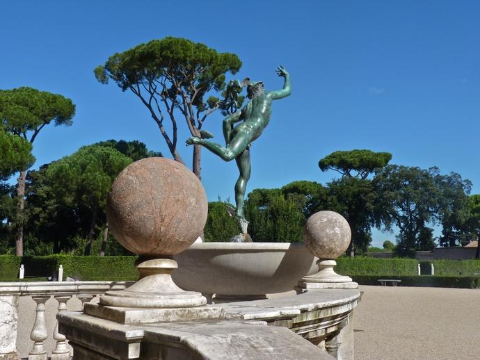 Villa medici les jardins 8 for Jardin villa medicis rome