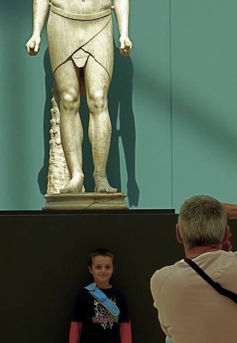 Posing with Antinous 2